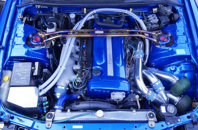 RB26DETT TWINTURBO ENGINE,