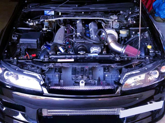 RB25DET TURBO ENGINE.