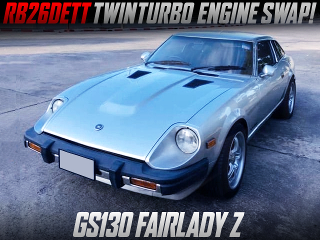 RB26 TWINTURBO SWAPPED GS130 FAIRLADY Z 2BY2.