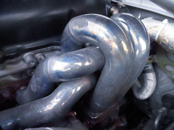 STAINLESS EXHAUST MANIFOLD.