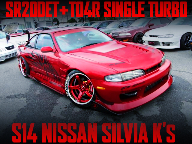 TO4R BIG TURBINE AND BN-SPORTS WIDEBODY With PRE-FACELIFT S14 SILVIA K's.