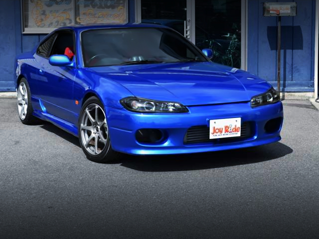 FRONT EXTERIOR OF S15 SILVIA AUTECH VERSION TO BAYSIDE BLUE.