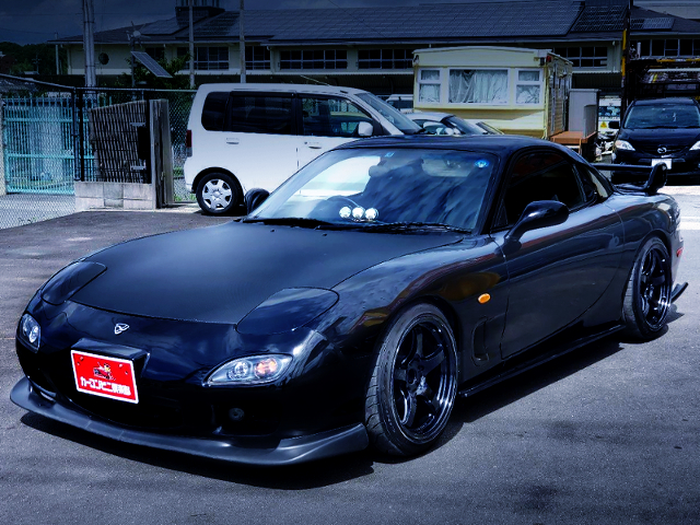 FRONT EXTERIOR OF FD3S RX-7 TYPE RS-R.