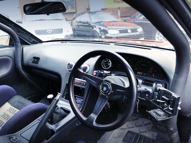 NARDI STEERING AND 180SXDASHBOARD.