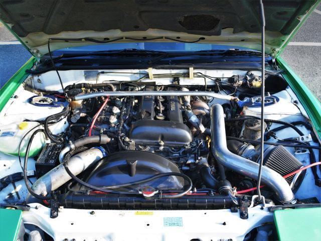 SR20DET TURBO ENGINE OF 180SX MOTOR.