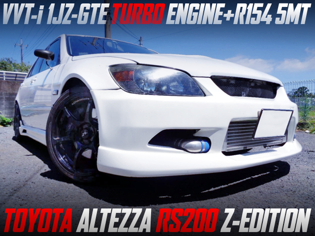 VVTi 1JZ-GTE TURBO And R154 5MT SWAP With ALTEZZA RS200 Z-EDITION.