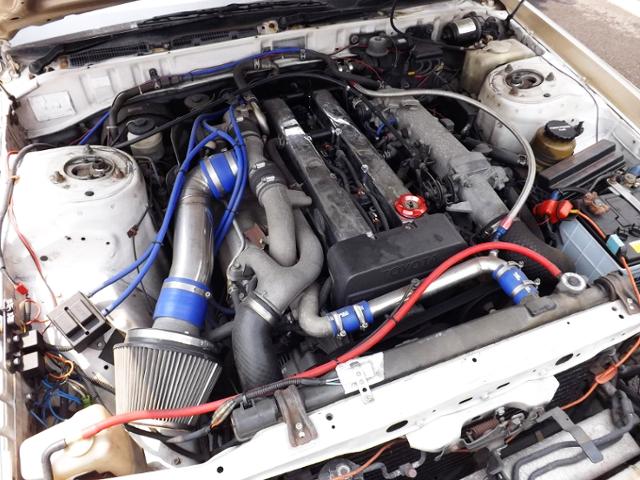 1JZ-GTE TWINTURBO ENGINE.