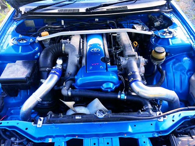 VVT-i 1JZ-GTE 2500cc TURBO ENGINE.