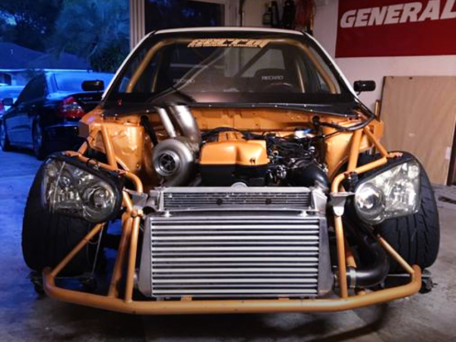 2JZ SINGLE TURBO ENGINE OF 2004 WRX.