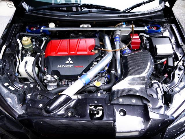 4B11 TURBO ENGINE OF EVO10 GSR MOTOR.