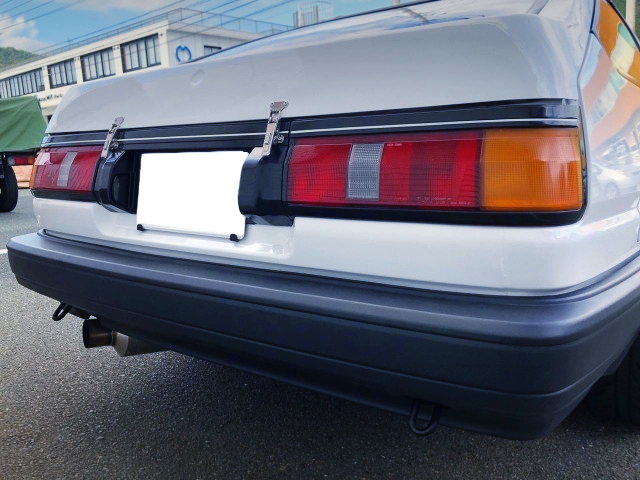 REAR TAIL LIGHT OF AE85 LEVIN WIDEBODY.