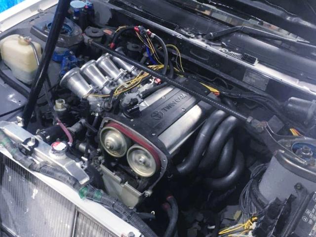 AE111 5-VALVE 4AGE ENGINE.
