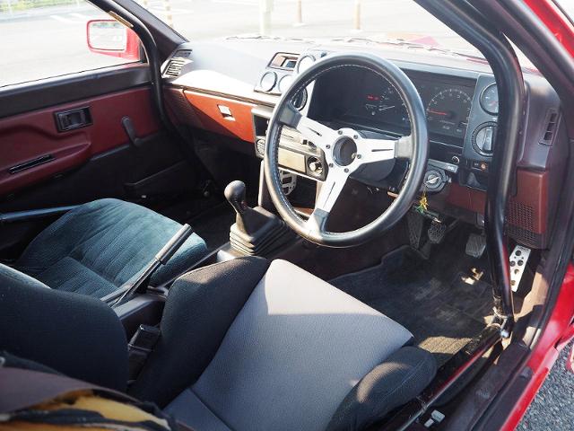 AE86 LEVIN INTERIOR.