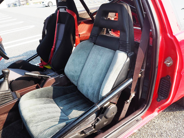 TWO-SEATER CONERSION TO AE86 LEVIN.