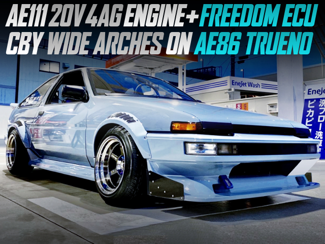 AE111 20V 4AG SWAPPED AE86 TRUENO TO CBY WIDE ARCHES.