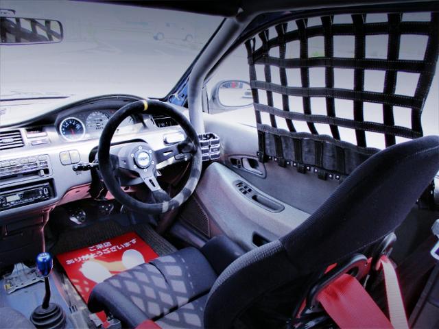 DRIVER'S CAR WINDOW NET.