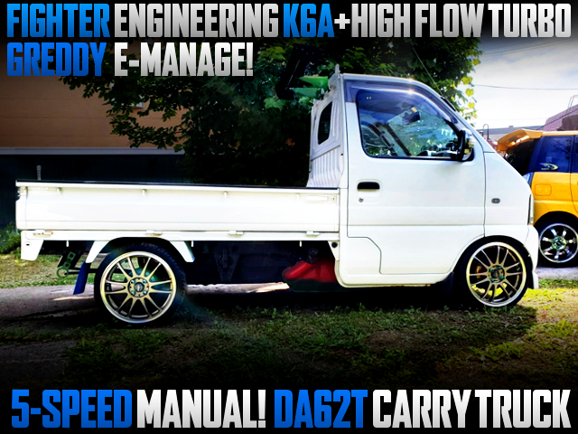 FIGHTER K6A With HIGH FLOW TURBO AND E-MANAGE INTO DA62T CARRY TRUCK.