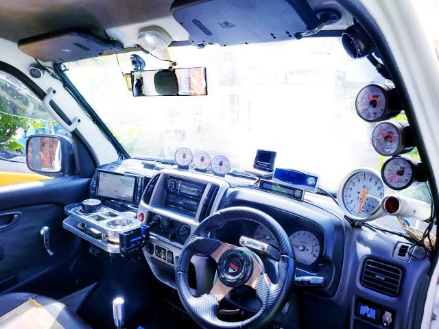 DA62T CARRY TRUCK CUSTOM INTERIOR.