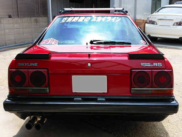REAR TAIL LIGHT OF DR30 SKYLINE 2000 TURBO RS.