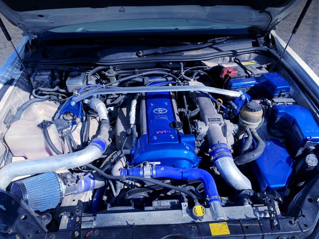 VVT-i 1JZ-GTE 2.5-liter ENGINE.
