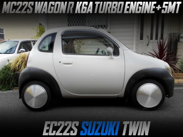 MC22S WAGON-R K6A TURBO AND 5MT INTO EC22C SUZUKI TWIN.
