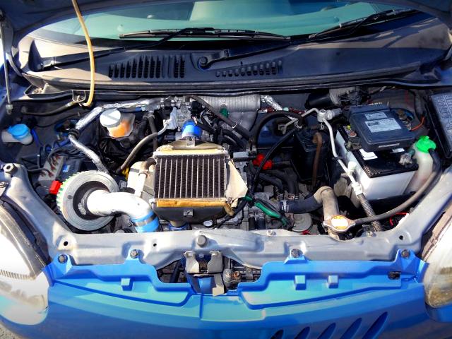 K6A TWINCAM INTERCOOLER TURBO ENGINE.