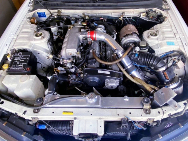 TO4E TOP MOUNT TURBOCHARGED RB25DET.