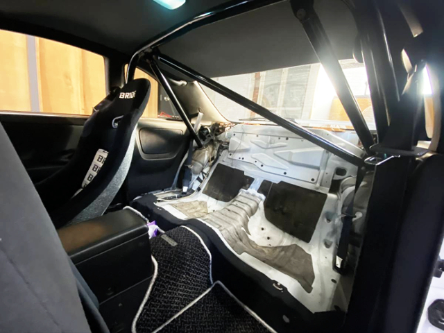 ROLL BAR AND BACK SEAT DELETE.