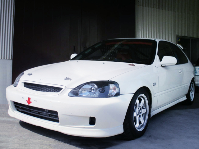 FRONT EXTERIOR OF EK9 CIVIC TYPE-R