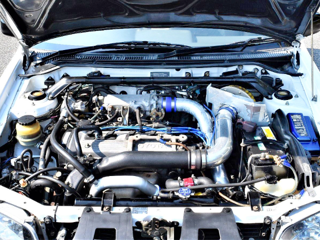 4E-FTE 1.3-Liter TURBO ENGINE OF EP91 GLANZA-V MOTOR.