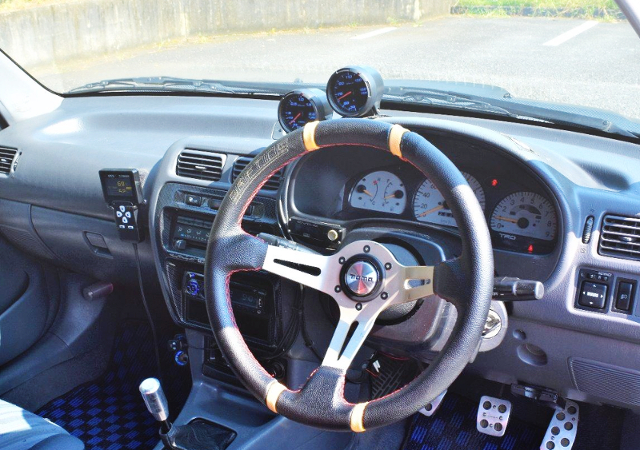 AFTERMARKET GAUGES And MOMO DRIFTING STEERING.