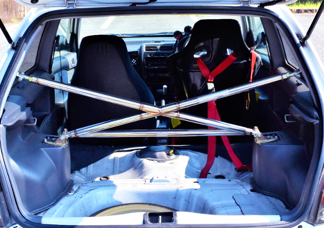 EP91 STARLET GLANZA-V OF LUGGAGE SPACE.