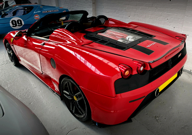 REAR EXTERIOR OF F430 REPLICA MR-S.