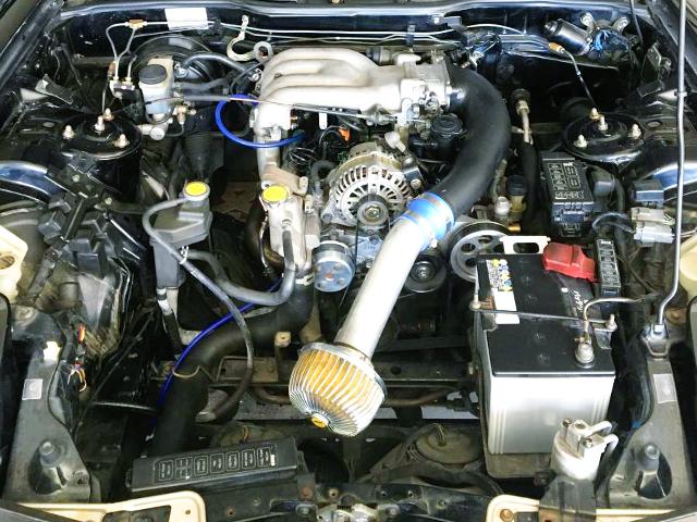 13B NATURALLY ASPIRATED ROTARY ENGINE.