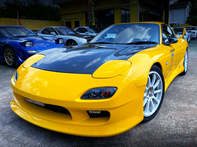FRONT EXTERIOR OF FD3S RX7 TYPE-RB.