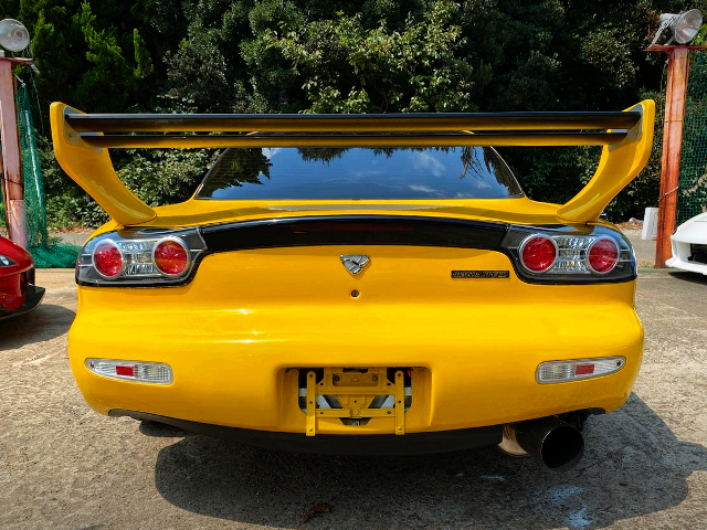 REAR TAIL LIGHT OF FD3S RX7 TYPE-RB.
