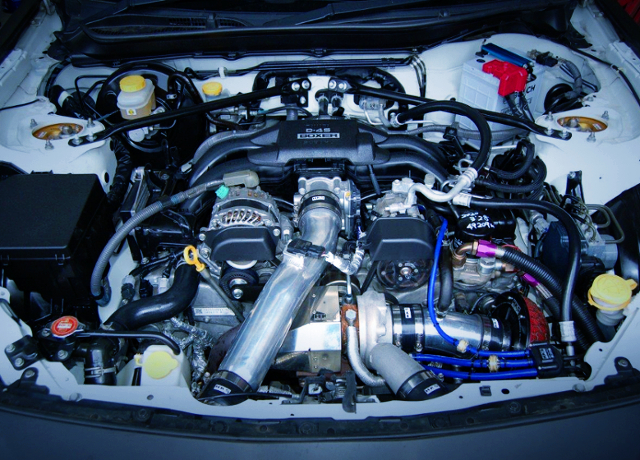 FA20 BOXER With GT3 BOLT ON TURBO.
