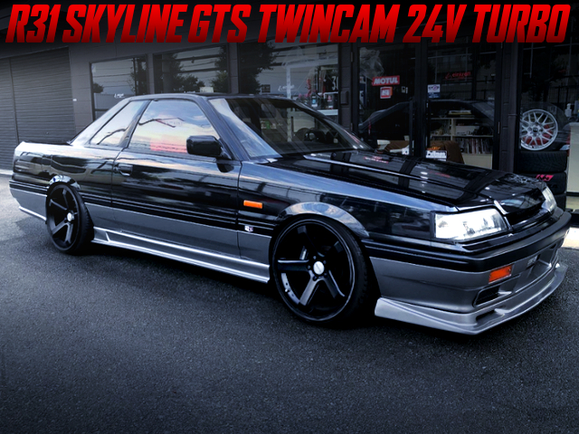 5-LUG CONVERSION R31 SKYLINE GTS TWINCAM 24V TURBO.