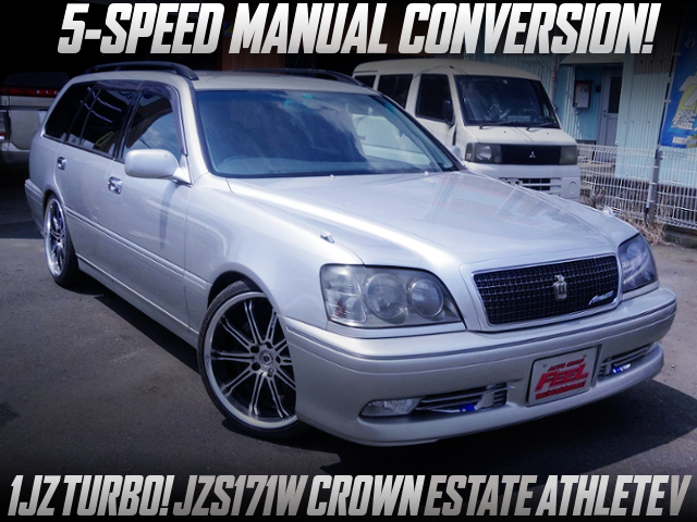 5MT CONVERSION OF JZS171W CROWN ESTATE ATHLETE V.