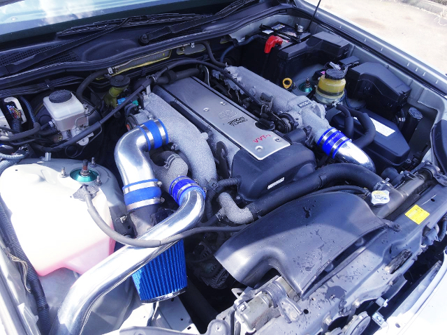 VVT-i 1JZ-GTE TURBO ENGINE..