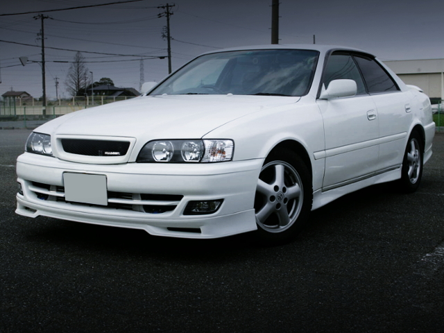 FRONT EXTERIOR OF JZX100 CHASER TOURER-S.