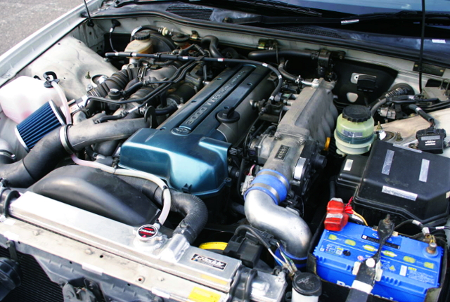 VVT-i 2JZ-GTE TWIN TURBO ENGINE.