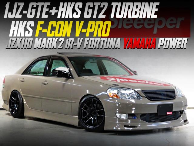 HKS GT2 TURBINE AND F-CON V-PRO INTO JZX110 MARK 2 iR-V FORTUNA YAMAHA POWER.