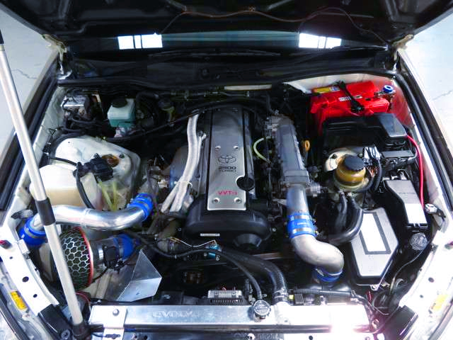 VVTi 1JZ-GTE With HKS GT2 TURBOCHARGER.