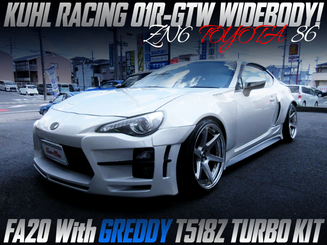 KUHL RACING 01R-GTW WIDEBODY And GREDDY T518Z TURBO INTO TOYOTA 86.