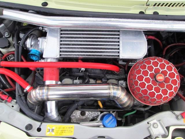KF-VE ENGINE With INTERCOOLER TURBO KIT.