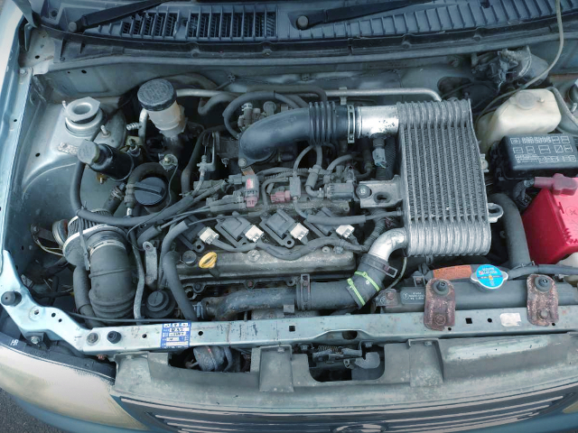 K3-VET 1300cc TURBO ENGINE.