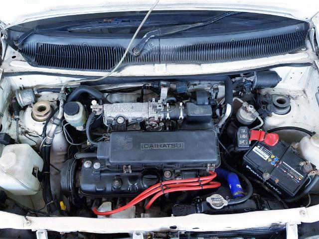 EF 660cc ENGINE OF L70 MIRA P1 MOTOR.