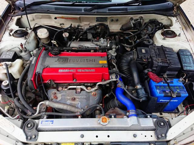 4G63 2.0-liter TURBO ENGINE OF EVO6 MOTOR.