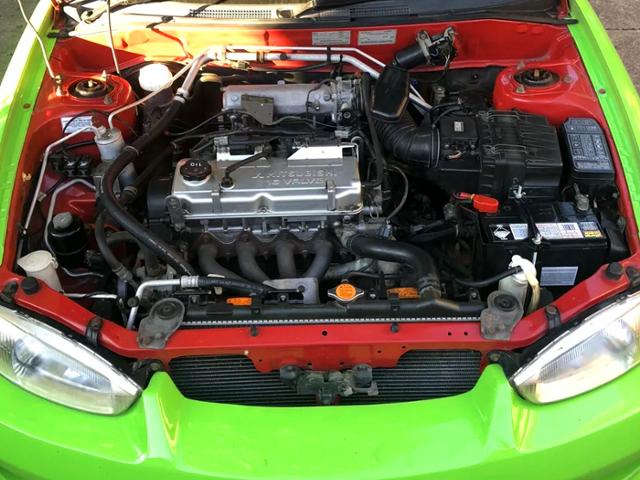 4G93 1.8-Liter ENGINE.